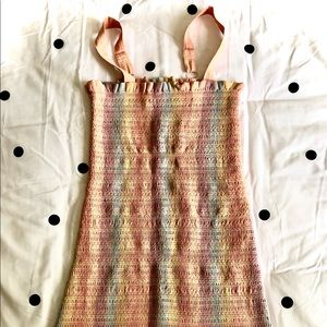 AEO Multi Color Bodycon Dress